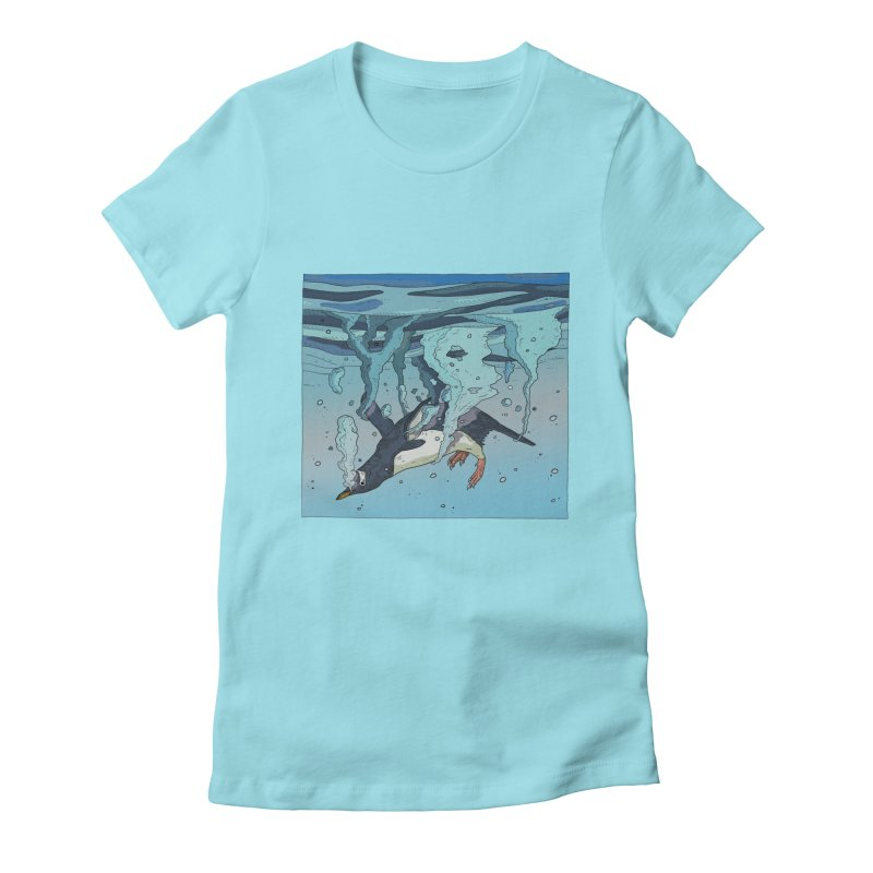 Penguin Women's T-Shirt by · STUDI X-LEE ·
