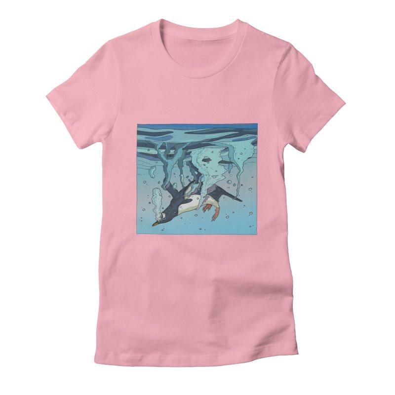 Penguin Women's T-Shirt by · STUDI X-LEE ·