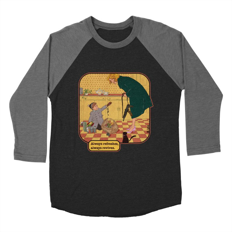 Always refreshes Women's Baseball Triblend Longsleeve T-Shirt by INK. ALPINA
