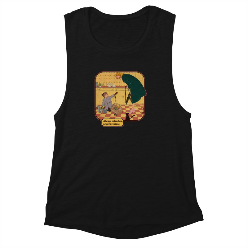 Always refreshes Women's Muscle Tank by INK. ALPINA
