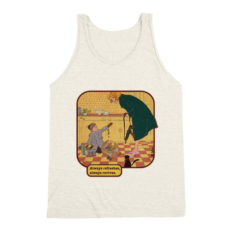 Always refreshes Men's Triblend Tank by · STUDI X-LEE ·