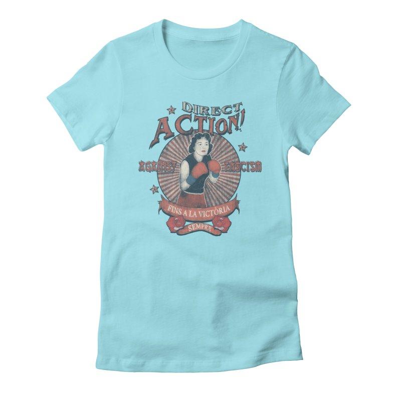 Agains Fascisn Women's T-Shirt by · STUDI X-LEE ·