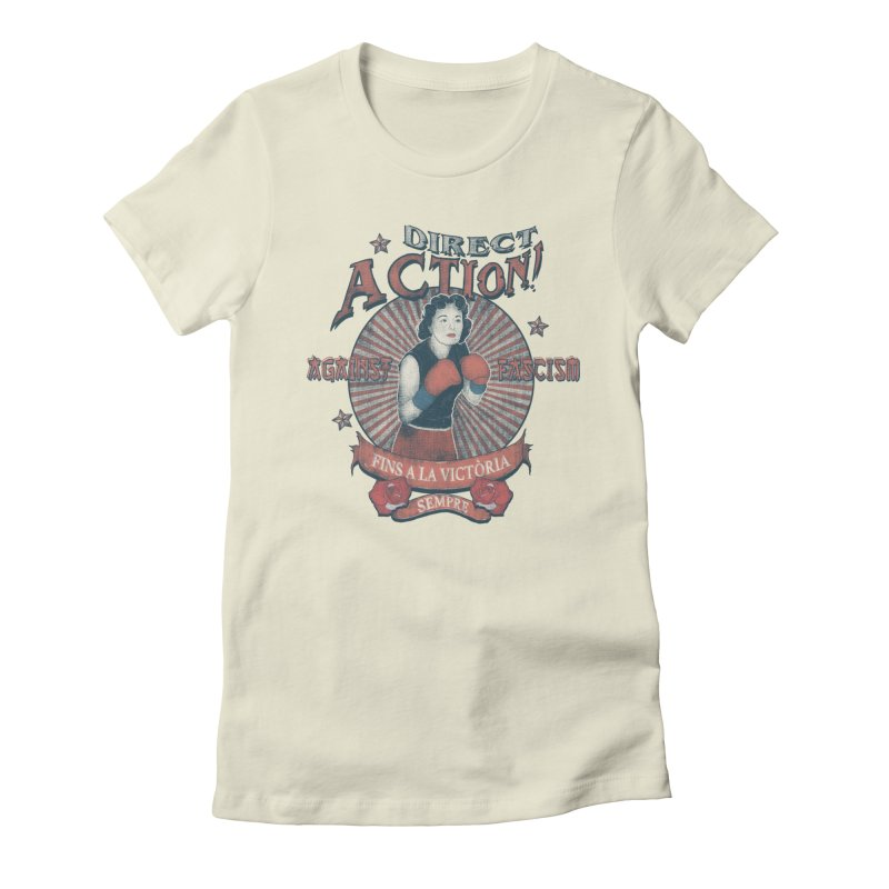 Agains Fascisn Women's T-Shirt by · STUDI X-LEE ·