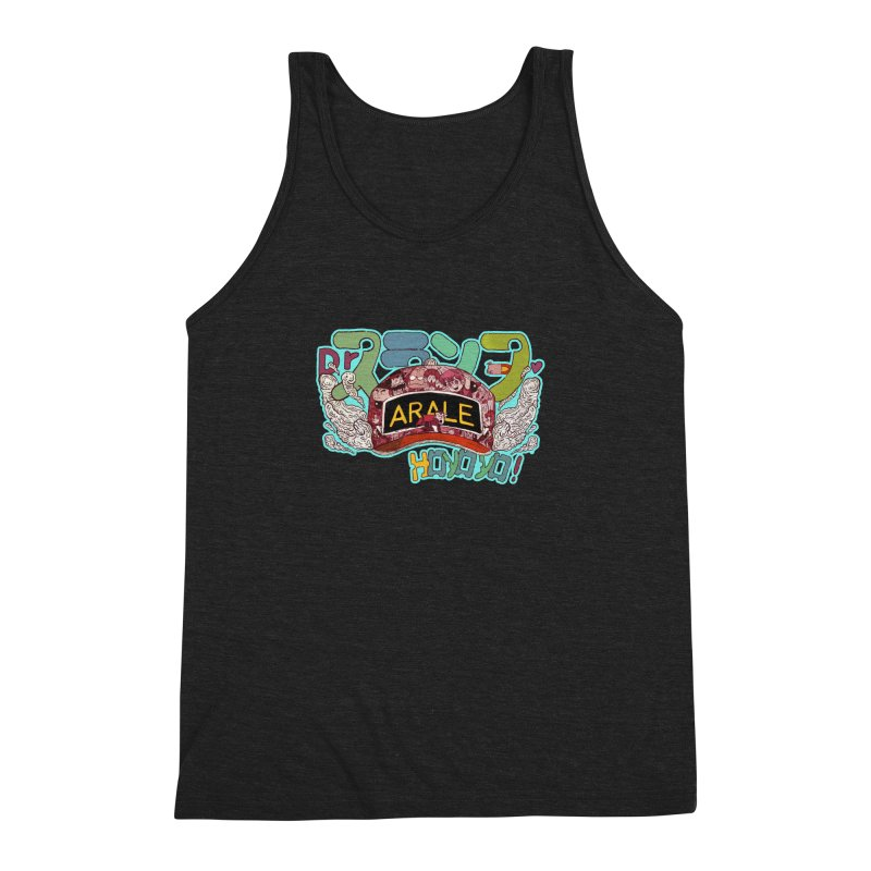 Arare Men's Triblend Tank by INK. ALPINA