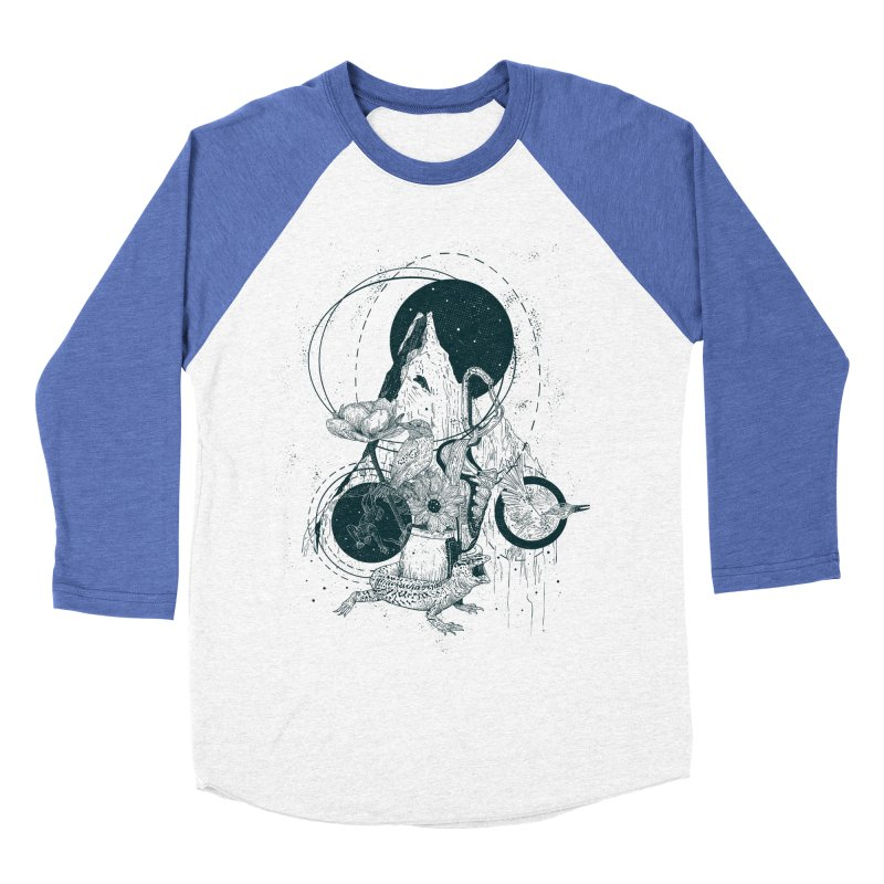 Sargantana Women's Baseball Triblend Longsleeve T-Shirt by · STUDI X-LEE ·