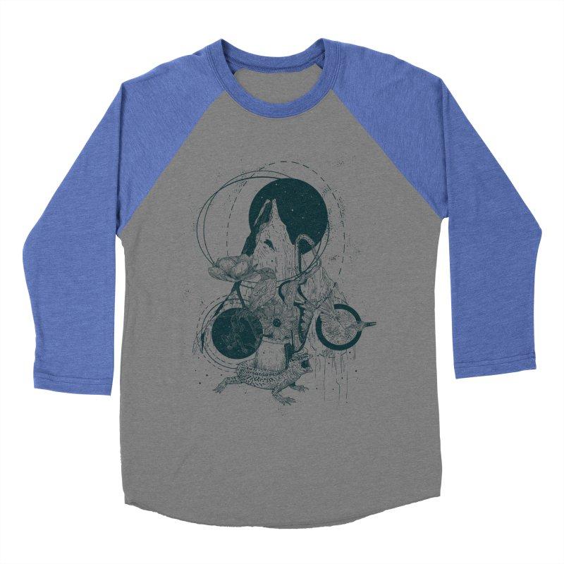 Sargantana Women's Baseball Triblend Longsleeve T-Shirt by INK. ALPINA
