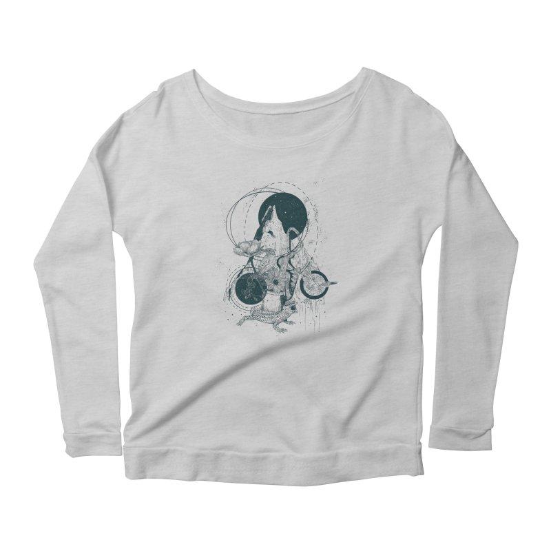 Sargantana Women's Scoop Neck Longsleeve T-Shirt by · STUDI X-LEE ·