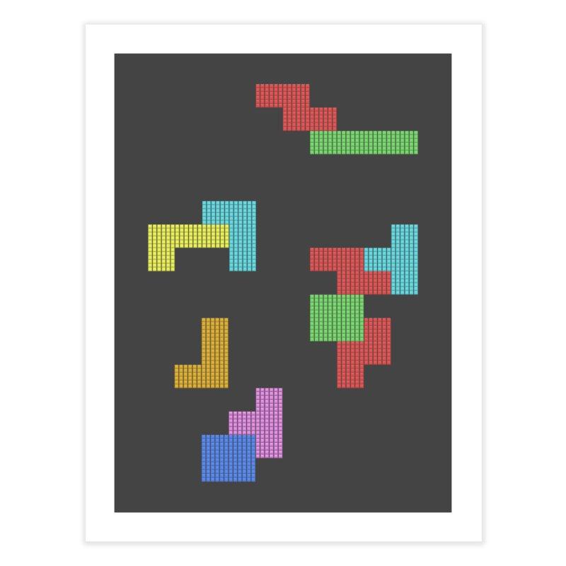Classic Game Home Fine Art Print by · STUDI X-LEE ·
