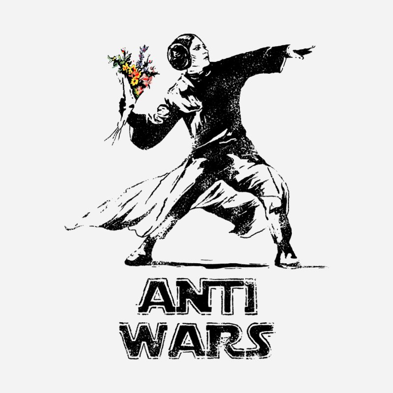 Anti Wars Home Framed Fine Art Print by · STUDI X-LEE ·