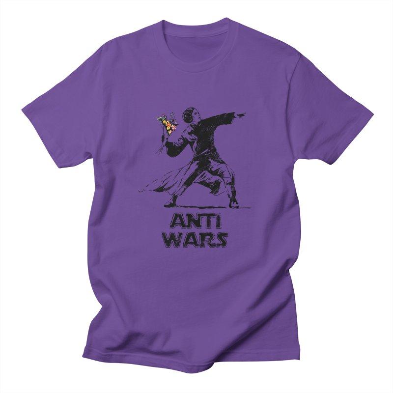 Anti Wars Men's Regular T-Shirt by · STUDI X-LEE ·