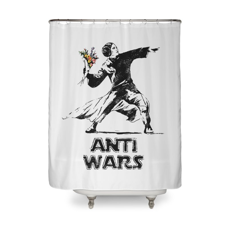 Anti Wars Home Shower Curtain by · STUDI X-LEE ·