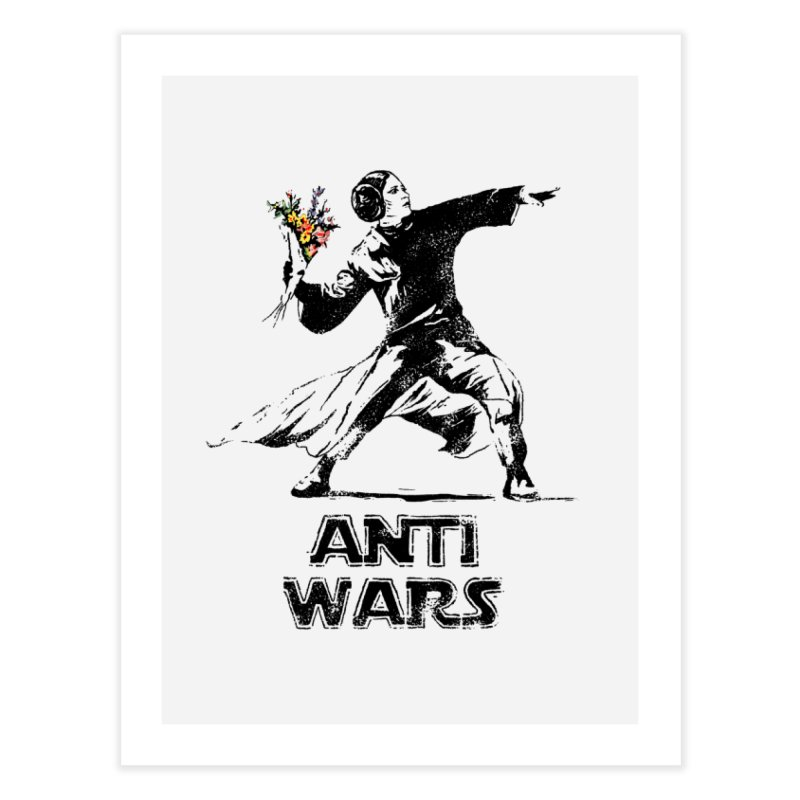 Anti Wars Home Fine Art Print by INK. ALPINA