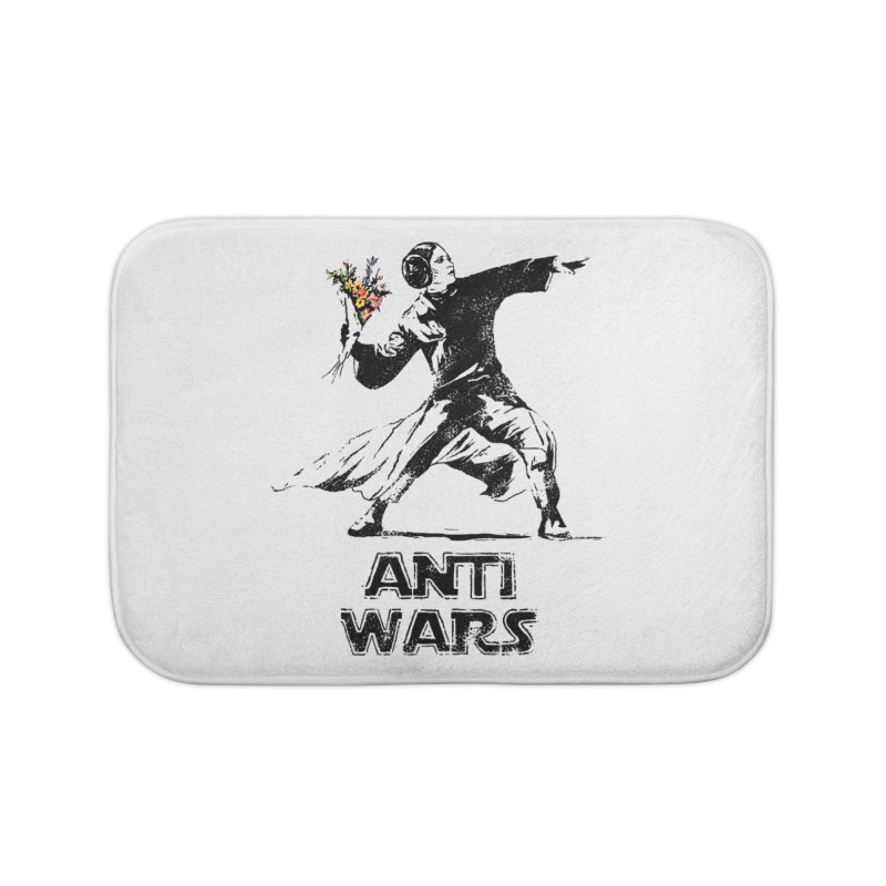 Anti Wars Home Bath Mat by · STUDI X-LEE ·
