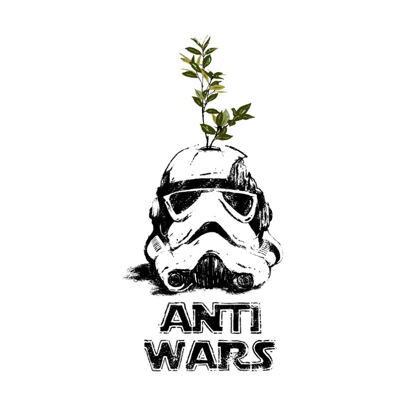 Anti Wars Serie Home Fine Art Print by · STUDI X-LEE ·