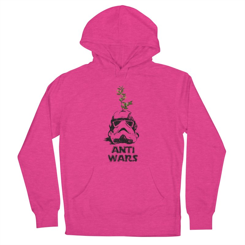 Anti Wars Serie Women's French Terry Pullover Hoody by · STUDI X-LEE ·