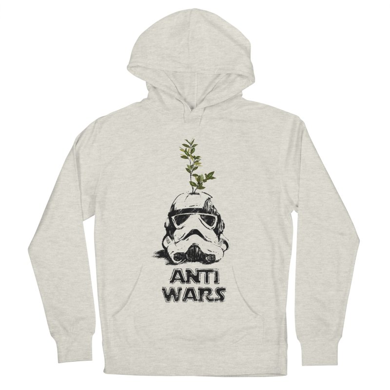 Anti Wars Serie Men's French Terry Pullover Hoody by · STUDI X-LEE ·