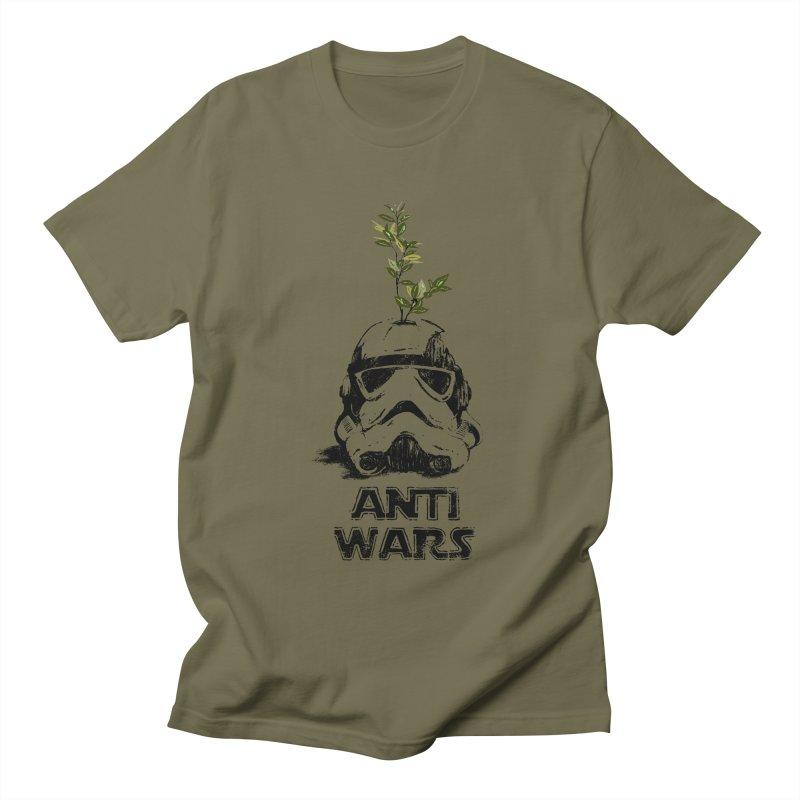 Anti Wars Serie Men's Regular T-Shirt by · STUDI X-LEE ·