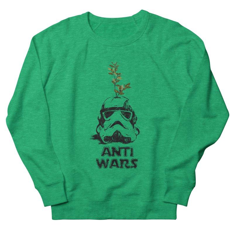 Anti Wars Serie Women's French Terry Sweatshirt by · STUDI X-LEE ·