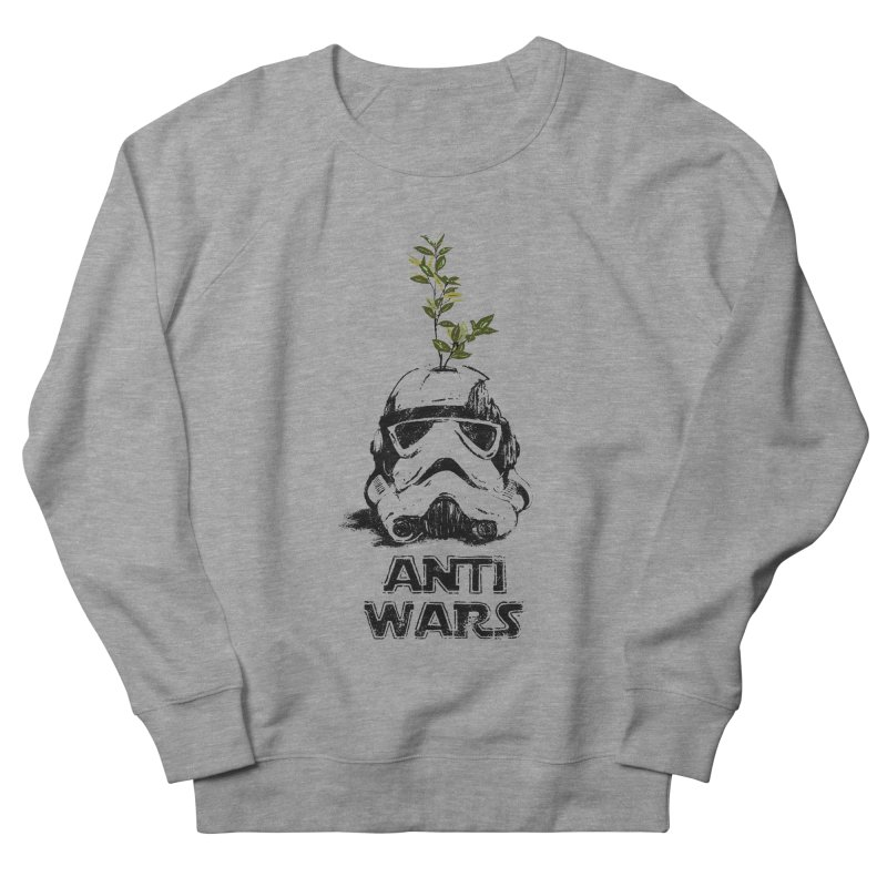 Anti Wars Serie Women's French Terry Sweatshirt by INK. ALPINA