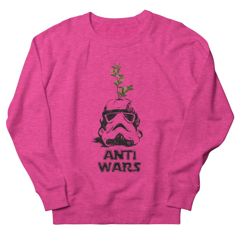 Anti Wars Serie Men's French Terry Sweatshirt by · STUDI X-LEE ·