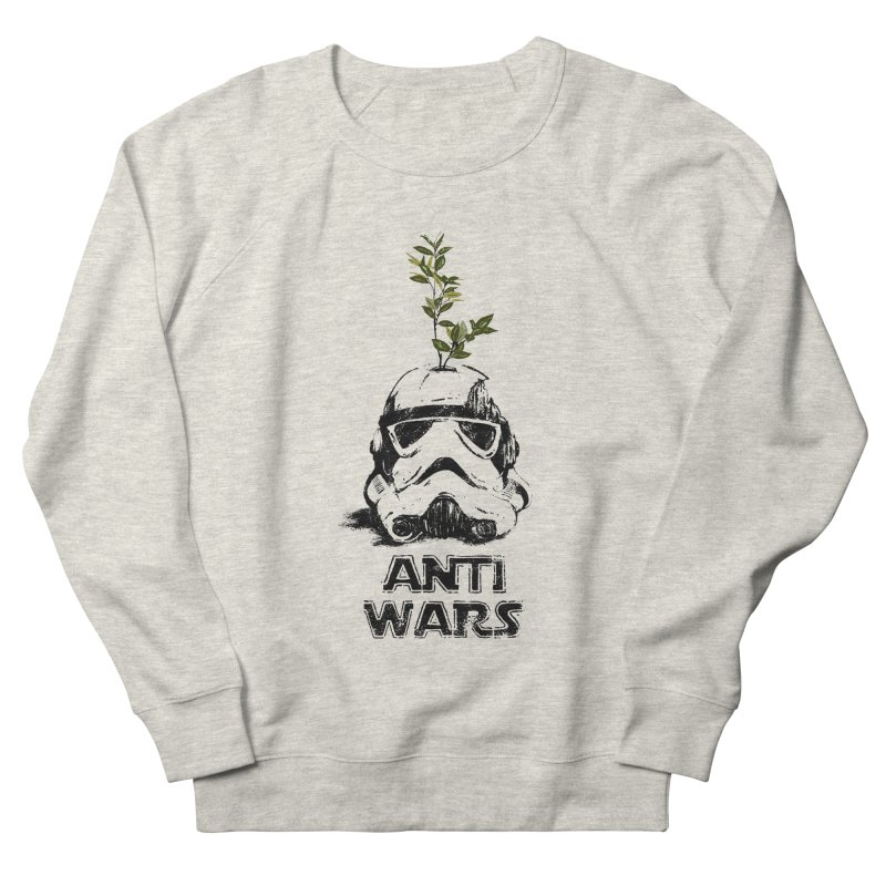 Anti Wars Serie Men's French Terry Sweatshirt by · STUDI X-LEE ·