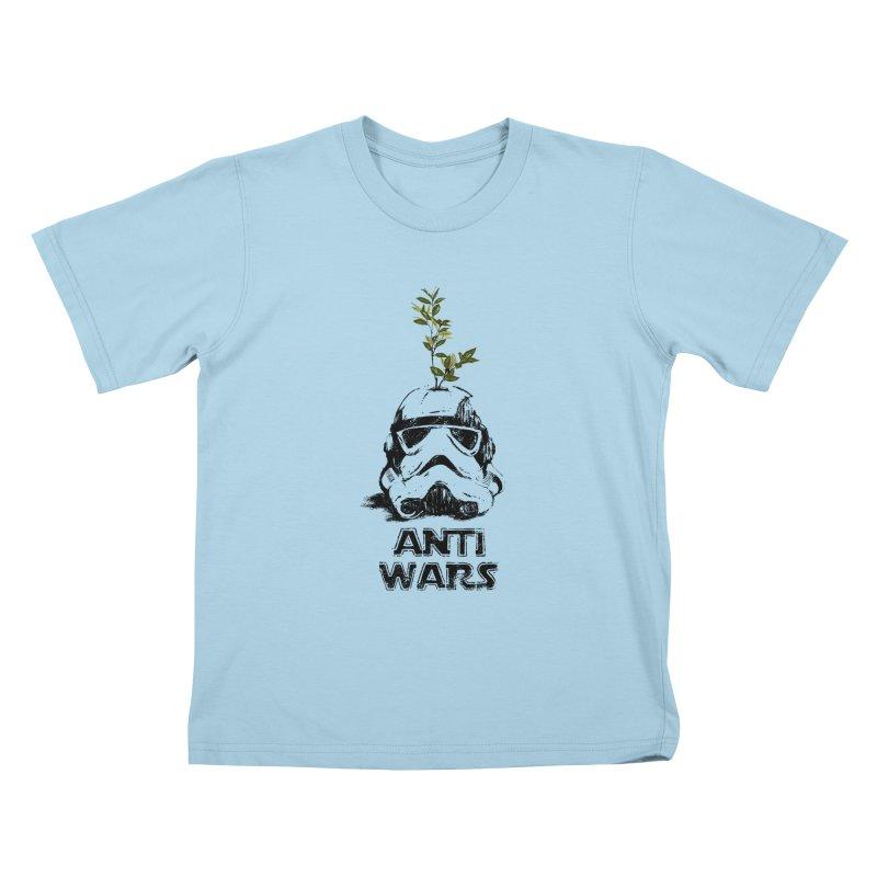 Anti Wars Serie Kids T-Shirt by · STUDI X-LEE ·
