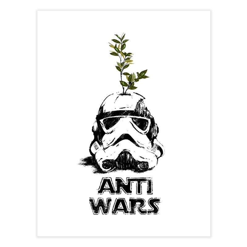 Anti Wars Serie Home Fine Art Print by · STUDI X-LEE ·