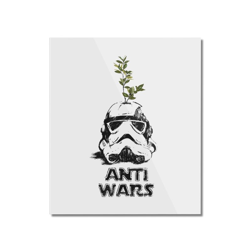 Anti Wars Serie Home Mounted Acrylic Print by INK. ALPINA