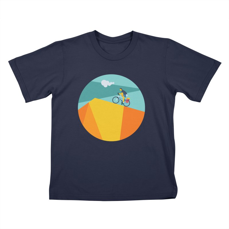 Ciclista Kids T-Shirt by INK. ALPINA