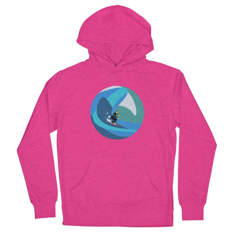 Surfista Women's French Terry Pullover Hoody by · STUDI X-LEE ·
