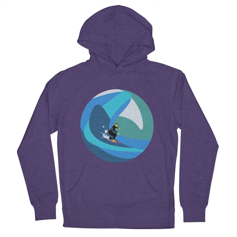 Surfista Women's French Terry Pullover Hoody by INK. ALPINA