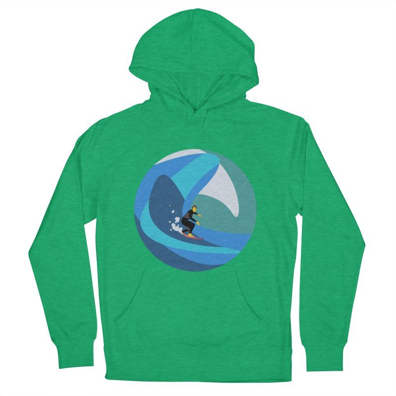 Surfista Men's French Terry Pullover Hoody by INK. ALPINA