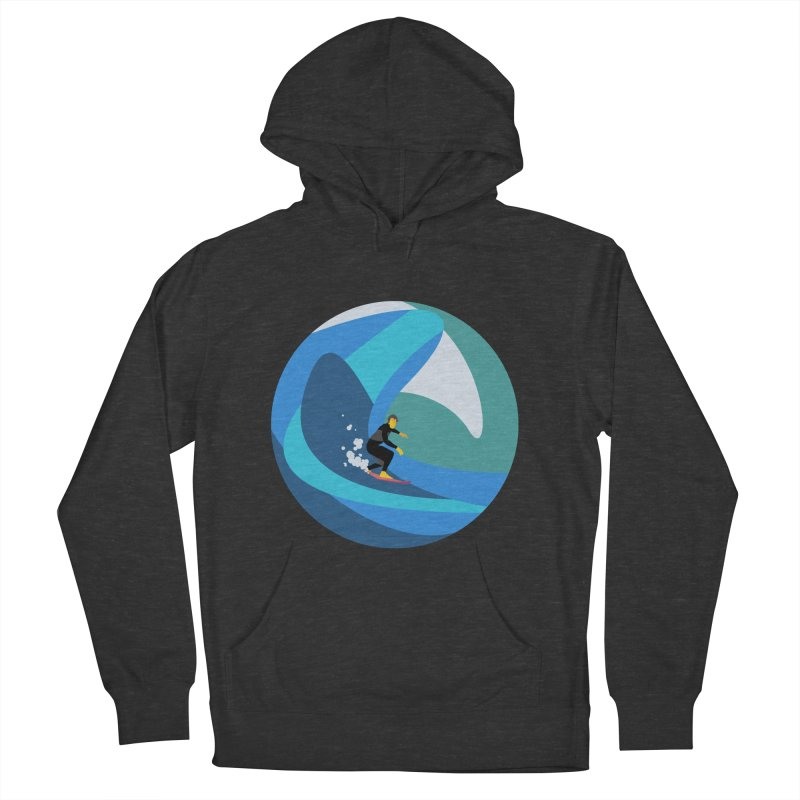 Surfista Men's French Terry Pullover Hoody by · STUDI X-LEE ·