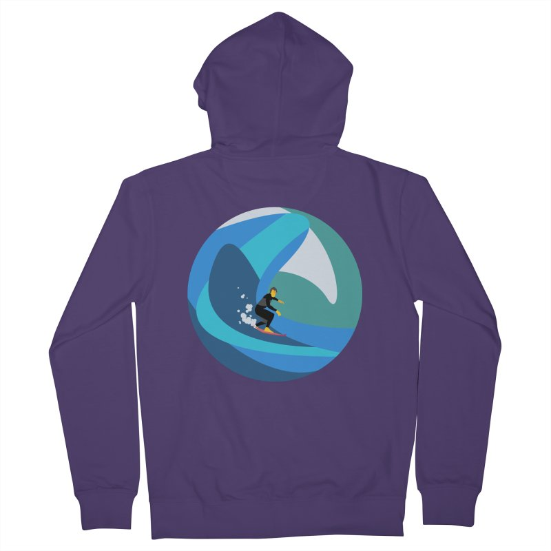 Surfista Women's French Terry Zip-Up Hoody by · STUDI X-LEE ·