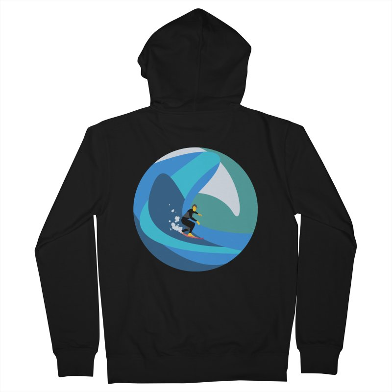 Surfista Women's French Terry Zip-Up Hoody by INK. ALPINA