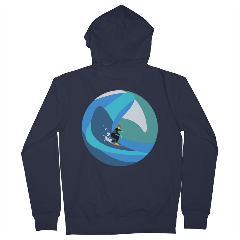 Surfista Men's French Terry Zip-Up Hoody by INK. ALPINA