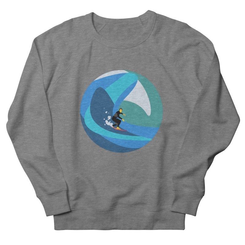 Surfista Women's French Terry Sweatshirt by · STUDI X-LEE ·