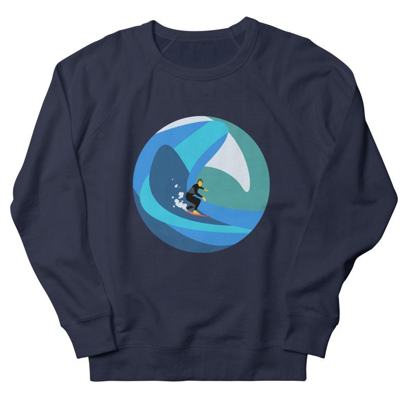 Surfista Men's French Terry Sweatshirt by INK. ALPINA