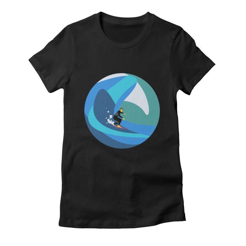 Surfista Women's T-Shirt by · STUDI X-LEE ·