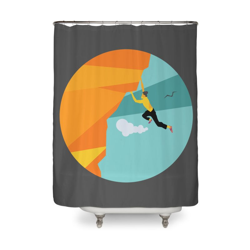 Escalador Home Shower Curtain by · STUDI X-LEE ·