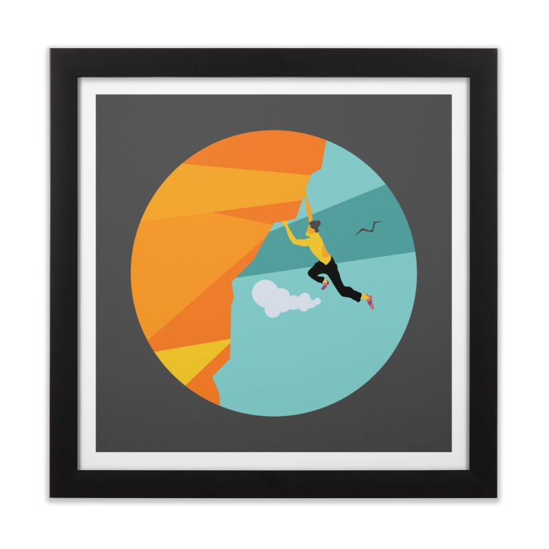 Escalador Home Framed Fine Art Print by · STUDI X-LEE ·