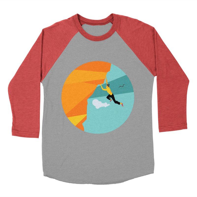 Escalador Women's Baseball Triblend Longsleeve T-Shirt by INK. ALPINA