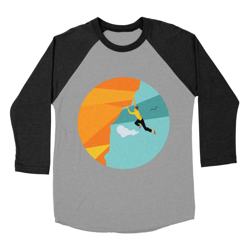 Escalador Women's Baseball Triblend Longsleeve T-Shirt by · STUDI X-LEE ·