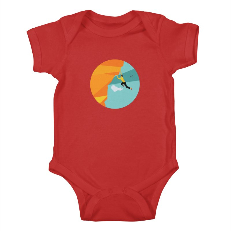 Escalador Kids Baby Bodysuit by · STUDI X-LEE ·