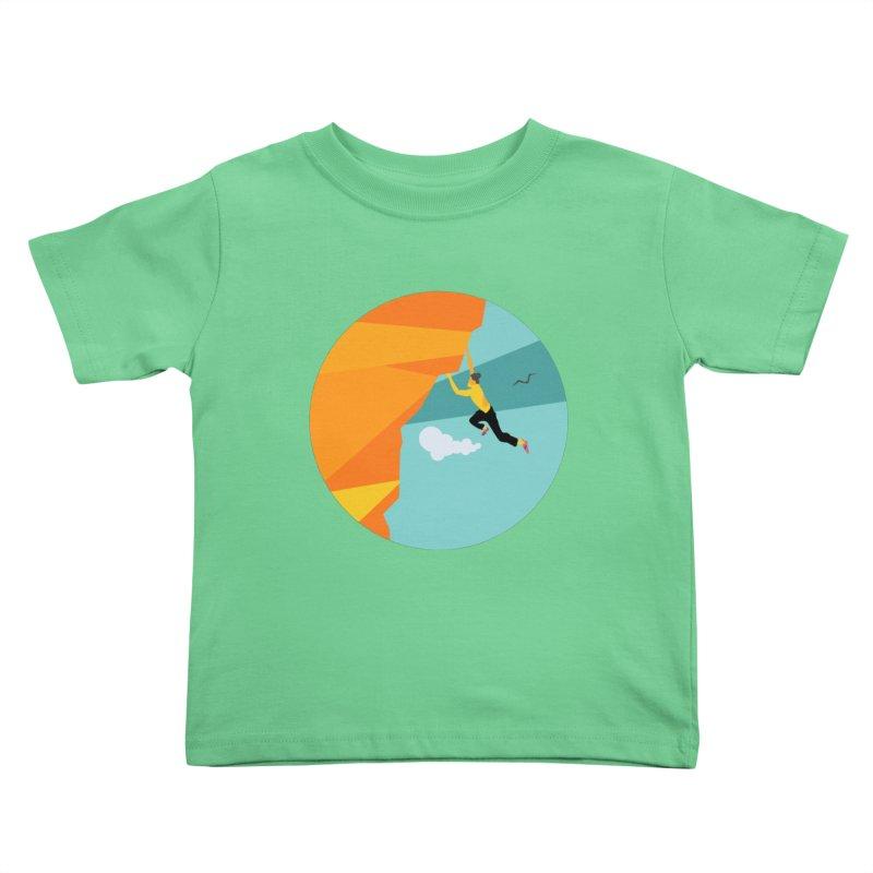 Escalador Kids Toddler T-Shirt by INK. ALPINA