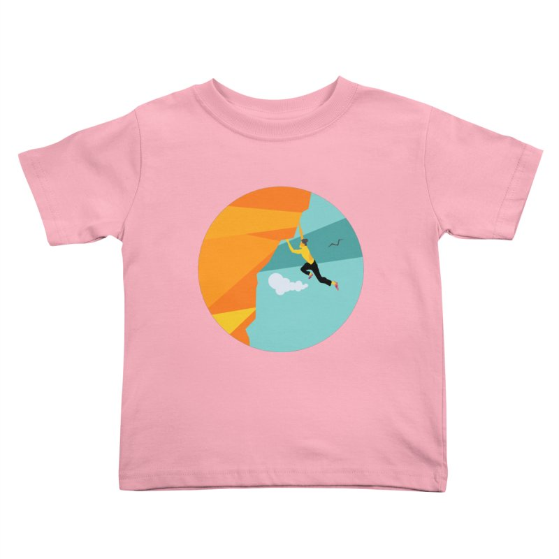 Escalador Kids Toddler T-Shirt by INK. ALPINA