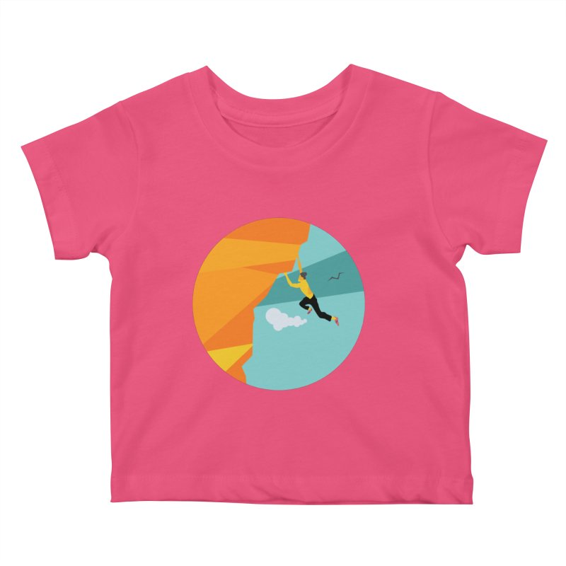 Escalador Kids Baby T-Shirt by · STUDI X-LEE ·