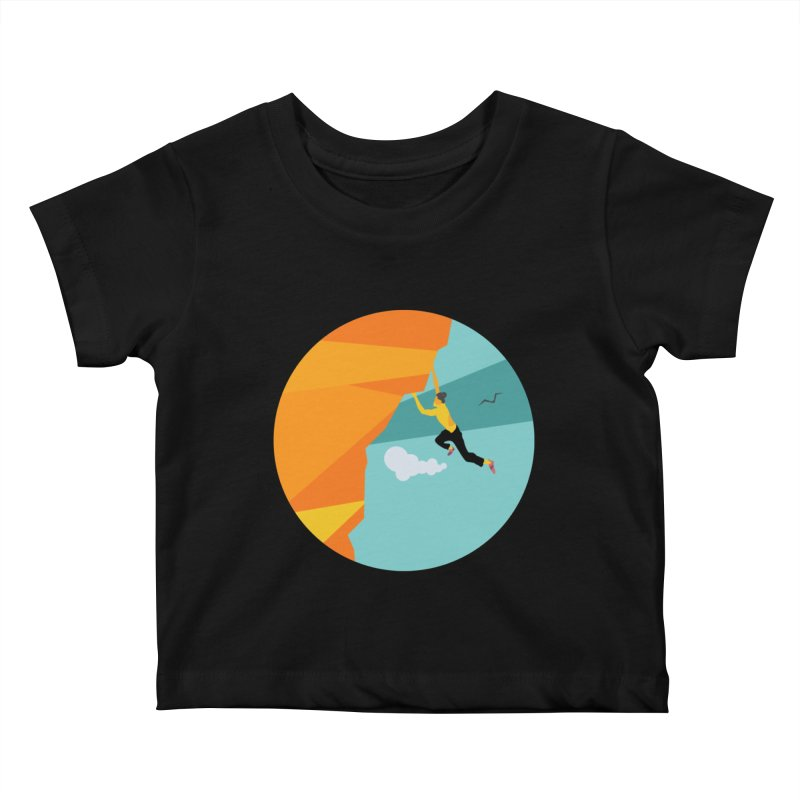 Escalador Kids Baby T-Shirt by · STUDI X-LEE ·
