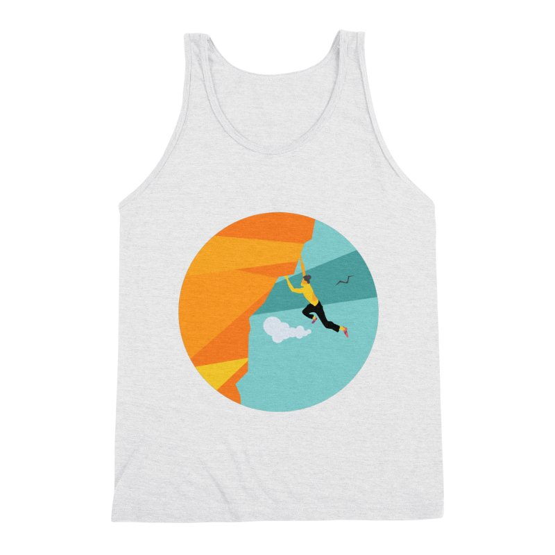 Escalador Men's Triblend Tank by · STUDI X-LEE ·