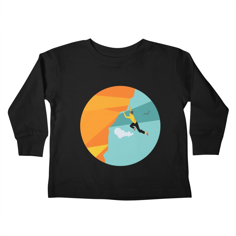 Escalador Kids Toddler Longsleeve T-Shirt by INK. ALPINA